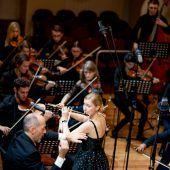 Nolwenn Bargin veredelte Konzert unter Benjamin Lack am Konservatorium. D6