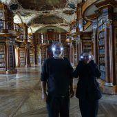 Lichtkunst für die Stiftsbibliothek. D4
