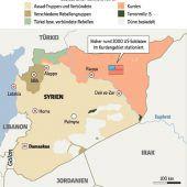 Entsetzen über Trumps Syrien-Beschluss