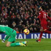 Historische Hinrunde für Liverpool