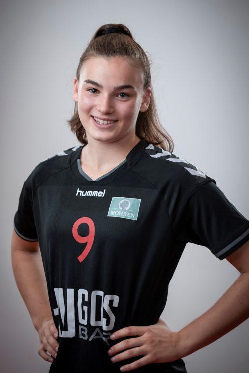 Flügelspielerin Marie Huberwar im Burgenland dabei. cth