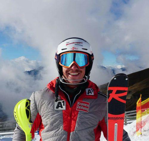 Freude über Platz drei: Mathias Graf.gp