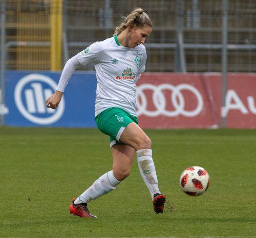 Für Sabrina Horvat verlief der Herbst sehr zufriedenstellend. Nach ihrem Wechsel an die Weser sicherte sie sich schnell einen Stammplatz in der Bundesliga.Hepberger