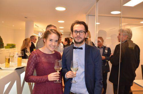 Gäste-Duo: Lisa Rauch und Christoph Selner.