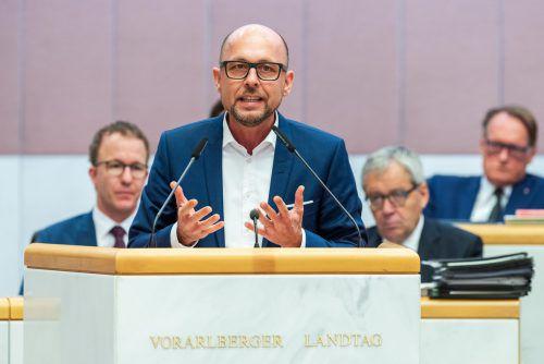 """""""Bregenz braucht endlich neue Impulse"""", sagt Michael Ritsch. VN/Stoplvsek"""