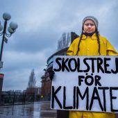 Schulschwänzen für das Weltklima
