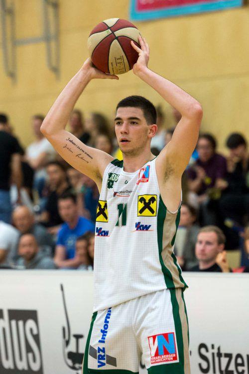 Guard Luka Kevric verbuchte sein Karriere-High mit 24 Punkten. Steurer