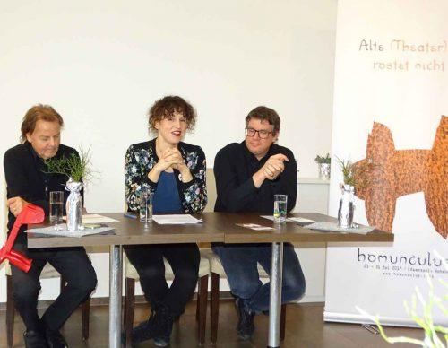 Günter Bucher, Susi Claus und Dieter Heidegger präsentierten das 28. Homunculus-Programm.tf