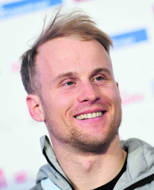 Guter Einstieg in den Weltcup, Hanno Douschan holte sich Platz drei.ap
