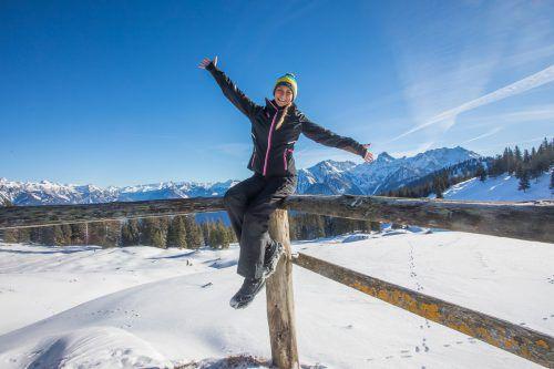 Heute, Samstag, steht Vorarlberg vor allem in den Bergen ein sehr sonniger Wintertag ins Haus. VN/SteuRer