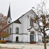 Pfarrkirche Hard: Der Sandstein bröckelt