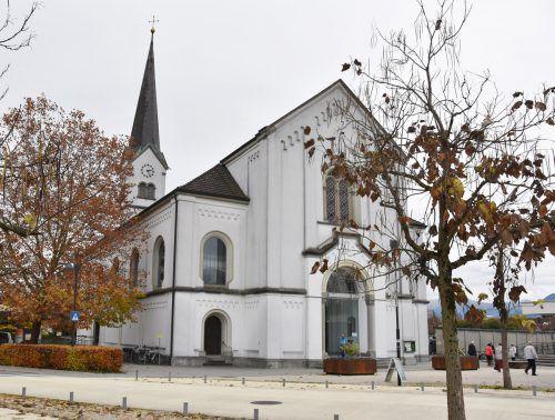 Im April 2019 beginnen die Sanierungsarbeiten an der Pfarrkirche St. Sebastian in Hard. ajk
