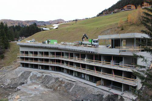 Im Großprojekt unter der Faschinabrücke gibt es Platz für mehr als 50 Personen.