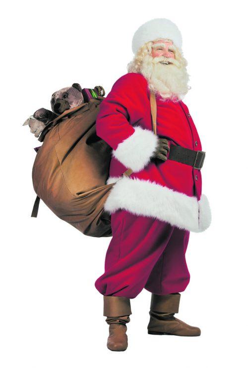 In England bringt Father Christmas in der Nacht auf den 25. Dezember die Geschenke . . .