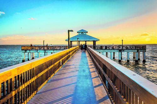 In Fort Myers Beach kann man die Sonnenuntergänge genießen. shutterstock