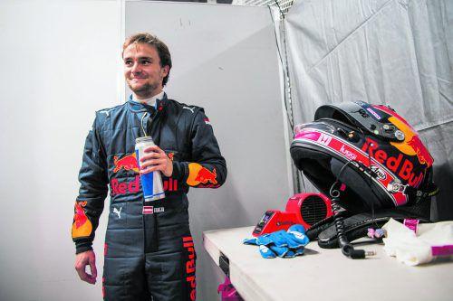 In Japan bei den Super-Formula-Tests bereits im Red-Bull-Gewand: Lucas Auer. rb