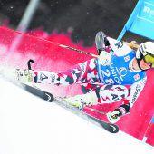 Johanna Greber fuhr erstmals im Europacup aufs Podest
