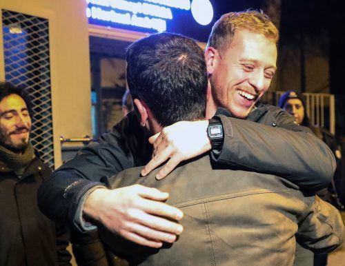 Max Zirngast durfte im Dezember 2018 das Gefängnis in Ankara verlassen. afp
