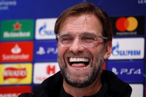 Jürgen Klopp gab sich vor dem Entscheidungsspiel betont locker. Reuters