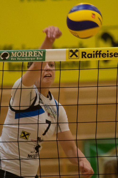 Julia Schrott führt mit 105 Punkten die Liga-Scorerliste an. Steurer