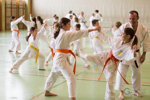 Karatelehrgang mit Silvio Campari. karate hofsteig