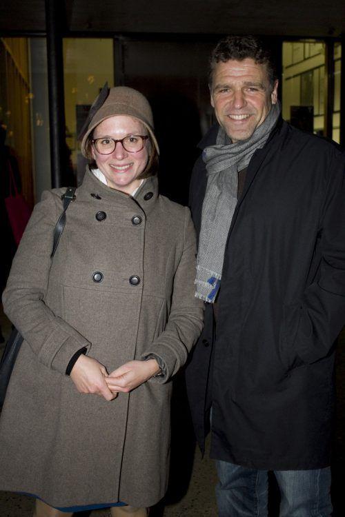 Katrin Sterba und Peter Düss.