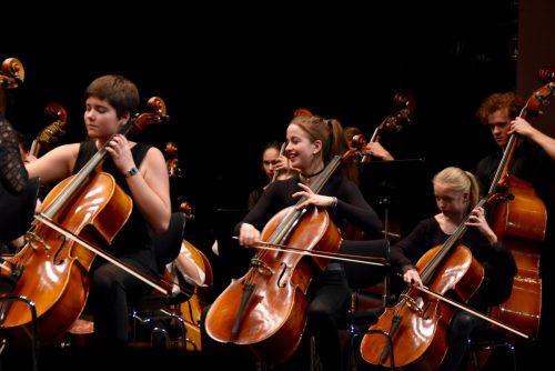 Konzert mit Solisten des Jugendsinfonieorchesters sowie dem Royal Concertgebouw Amsterdam.caroline begle