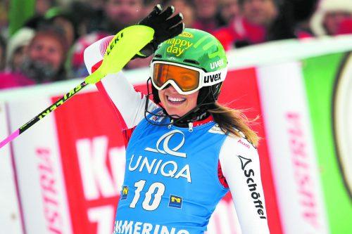 Lächeln durfte im Jahr 2018 nicht nur Katharina Liensberger. Nicht weniger als acht Vorarlberger sammelten in den vergangenen 365 Tagen Weltcuppunkte.Gepa