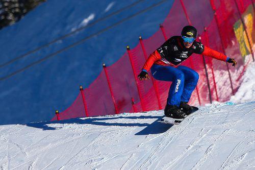 Luca Hämmerle hat bei der einzigen Weltcupstation vor der WM im amerikanischen Solitude mit dem siebten Rang im zweiten Rennen groß aufgezeigt.VN/Steurer