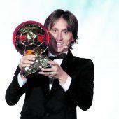 Modric erhielt auch den Ballon dOr