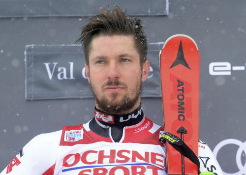 Marcel Hirscher greift beim Riesentorlauf in Alta Badia nach Sieg sechs.ap