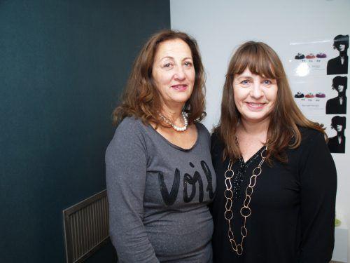 Margit Wilhelmer und Brigitte Abl waren mit von der Partie.