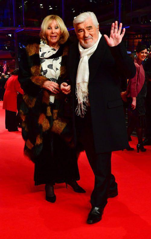 Mario Adorf (88) ist seit 50 Jahren glücklich verheiratet. dpa