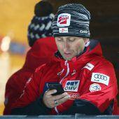 Stecher fordert von den Skisprung-Fans Geduld
