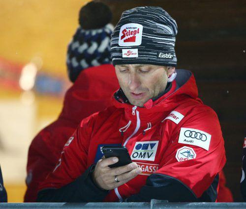 Mario Stecher war noch nicht mit allen gezeigten Leistungen zufrieden. Gepa