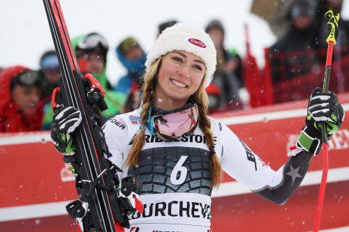 Mikaela Shiffrin hat die Pause gut getan. Der US-Superstar gewann beim Riesentorlauf in Courchevel ihr 49. Weltcuprennen.gepa