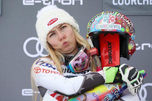 Mikaela Shiffrin will auch am Semmering Siege einfahren.gepa