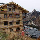 Appartement-Dorf wird komplett