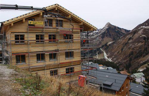 """Mit dem """"Landhaus"""" wird das """"Appartement-Dorf"""" in Oberdamüls komplett."""