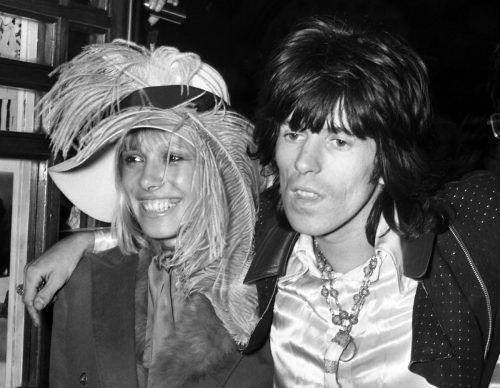 Mit der 1960er-Muse Anita Pallenberg hatte Keith Richards drei Kinder. AP