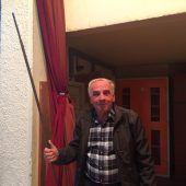 Safet (69) wurde zum Krampus für Einbrecher