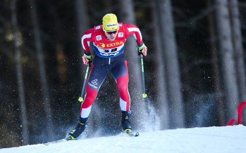 Mit einer starken Vorstellung wartete der Sulzberger Dominik Baldauf zum Auftakt der Tour de Ski auf.gepa