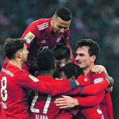 Bayern setzt sich gegen Leipzig 1:0 durch