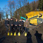 Spatenstechen für neuen Dornbirner Campingplatz Enz