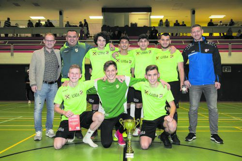Nach einer knappen Entscheidung jubelte am Ende das U18-Team der Lustenauer Austria.VFV