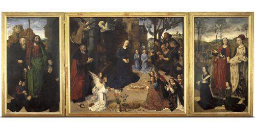 Neben Leonardo da Vinci, Albrecht Dürer und Sandro Botticelli sind auch Werke von Hugo van der Goes (im Bild) in der Online-Ausstellung zu sehen. Uffizi Galleries/Goes