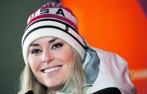 Neues Jahr, neuer Anlauf auf der Skipiste: Lindsey Vonn.ap