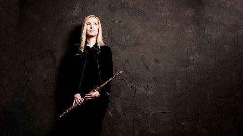 Nolwenn Bargin leitet seit 2017 die Flötenklasse am Vorarlberger Landeskonservatorium.MARCO BORGGREVE