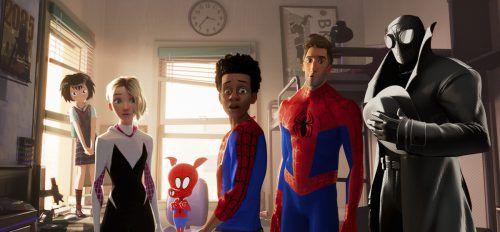 """Nun kommt mit """"Spider-Man: A New Universe"""" ein Animationsfilm ins Kino. Ap"""
