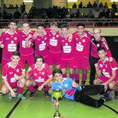 """<p class=""""caption"""">Ohne Punkteverlust sicherte sich die U16-Elf des FC Dornbirn den Titel.VFV</p>"""